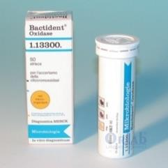 Bactident® Oxidase for the detection of cytochrome oxidase in microorganisms 50 STRIPS