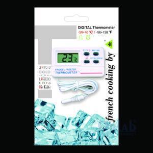 Buzdolabı/Dondurucu için Dijital Termometre  -50+70°C / -58+158°F