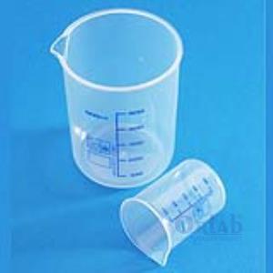 PP Beher, Mavi Taksimatlı, 250 ml
